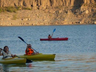 Canoe Rental in Negratín Reservoir, 2 hours