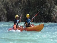 Canoa-Raft Genil river