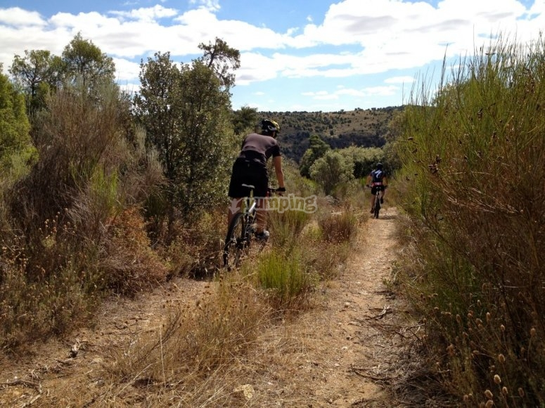 Tour Zamora in mountain bike
