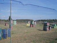 Escenario de paintball en Conil