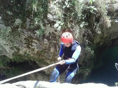 Barranquismo nivel I en el Río Verde, 3 - 4 h