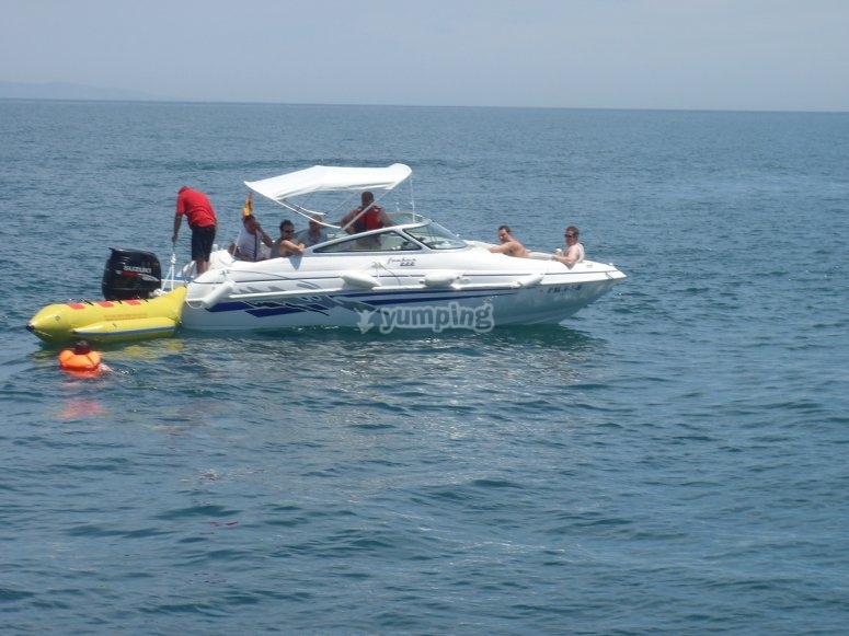 Navegando en Estepona