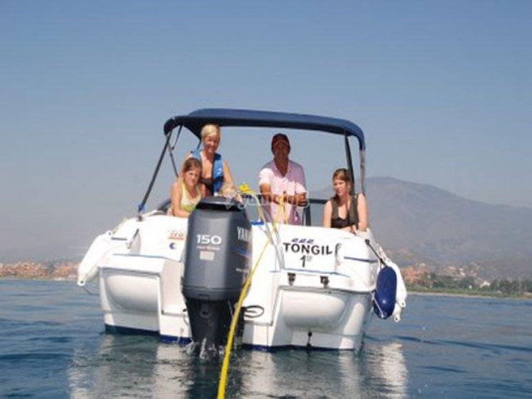 Navega durante 3 horas en Estepona