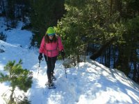 Snowshoe guided tour
