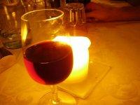 烛光葡萄酒