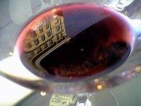 葡萄酒反映圣塞巴斯蒂安