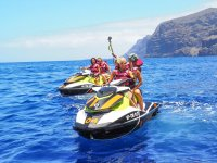 Grabando la ruta en moto de agua