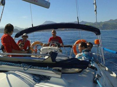 Paseo en velero Getaria, 3 horas
