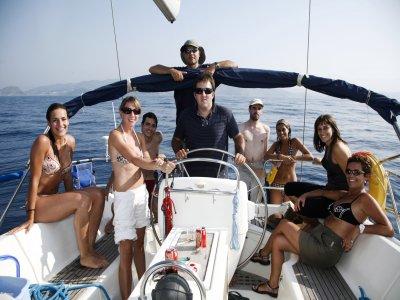 Despedida de solter@ en velero desde Getaria. 3 h.