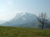 山脉在Aia