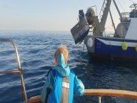 发现船上的海上活动