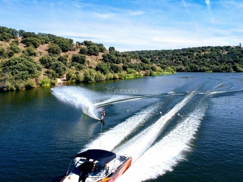 Boat for the jet ski in Valdemorillo