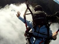 A memorable paragliding flight
