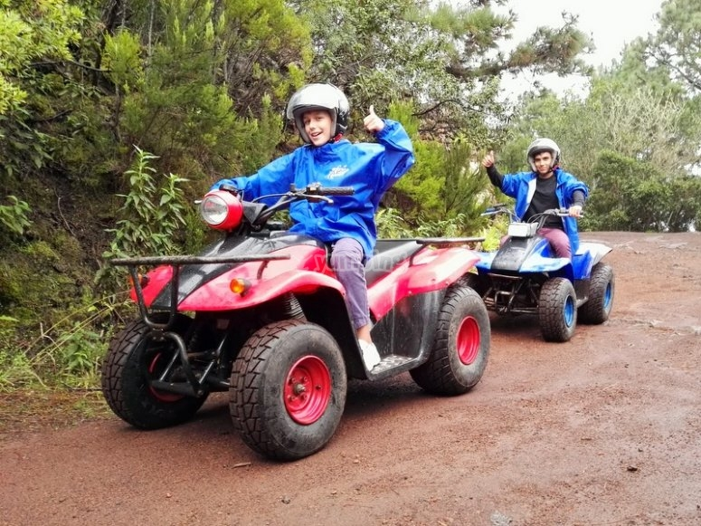 Two quads in Tenerife