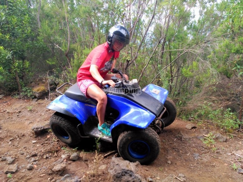 Recorrido en quads en Tenerife