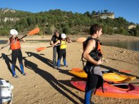 Inicios  en kayak