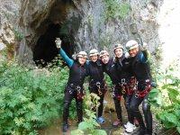 Cueva Valporquero - Barranco