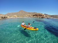 Touring the Bay of Mazarrón by kayak