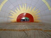 Interior del globo