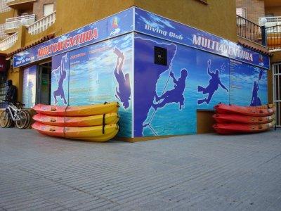 Pack especial, Kayak + Snorkel Peñón de Ifach 2 h