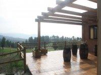 Terraza de nuestra instalación