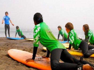 Corso di surf 14 ore dal lunedì alla domenica
