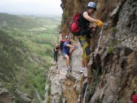 Via ferrata, perfect initiation for climbing