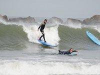 classe di surf nelle Asturie