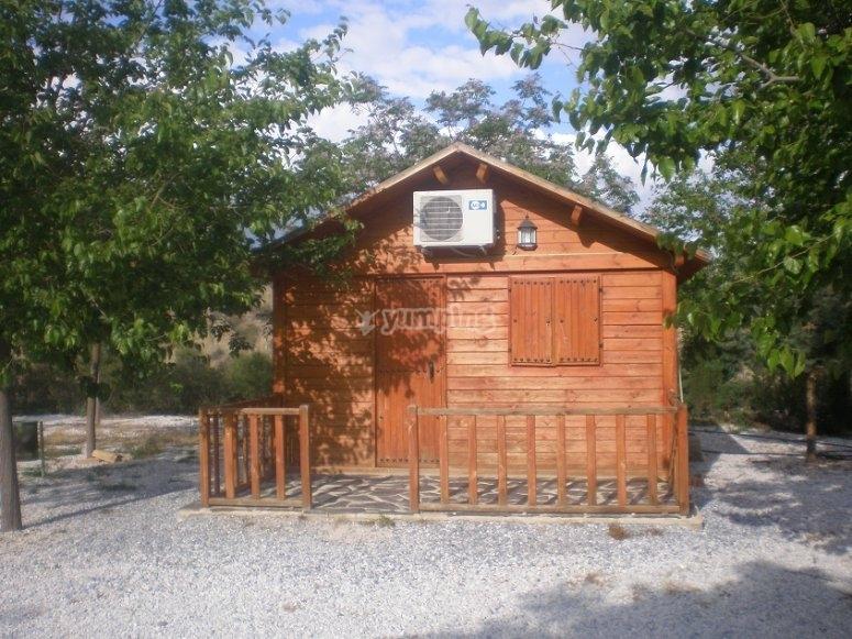 Cabanas climatizadas en el Negratin