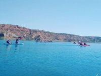 皮划艇路线穿过 El Negretin 水库