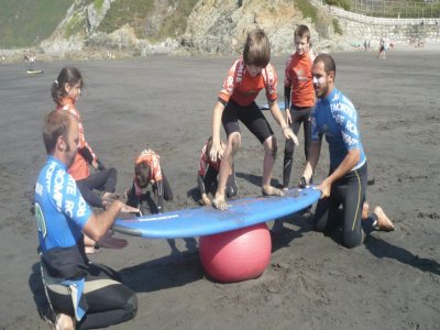 Surfcamp夏季7天11至14年
