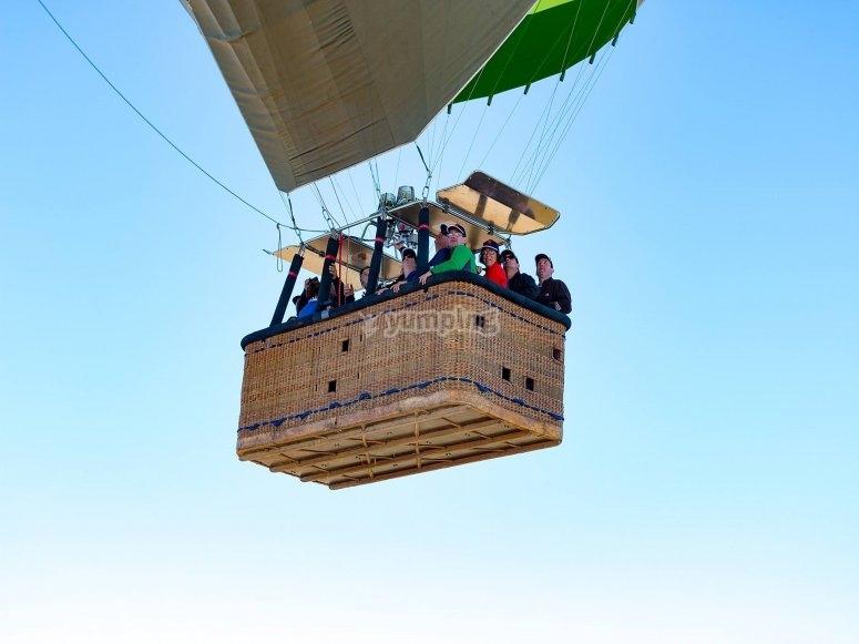 Un vuelo en globo para todas las edades