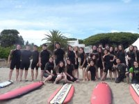 The students of the surfcamp