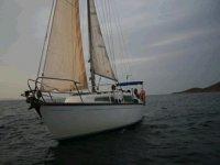 Uno de nuestros veleros