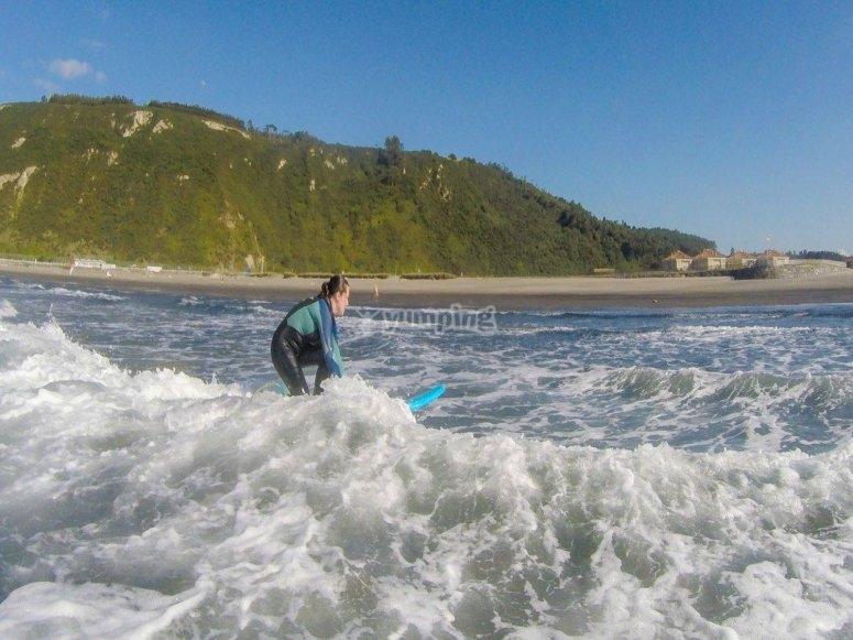 Pratica la tua tecnica di surf