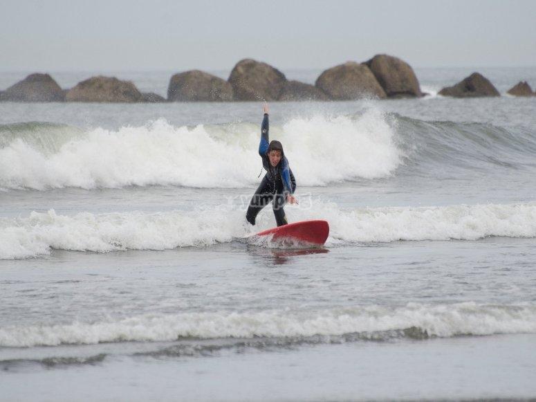 Cavalca le onde della Cantabria