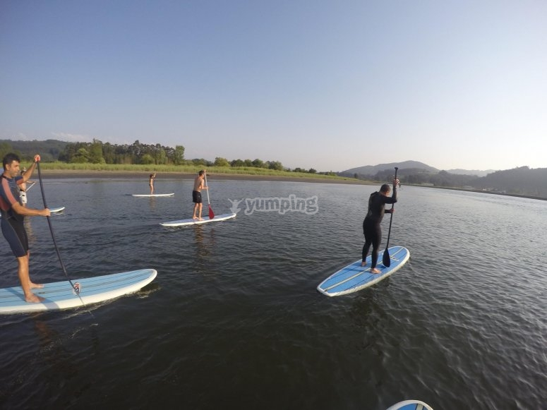 Paddle Surf Route