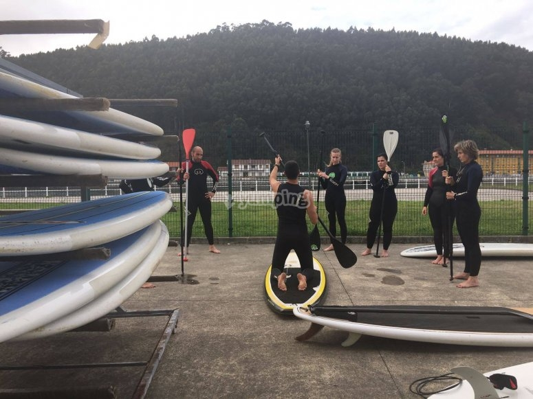 APddle Surf Briefing