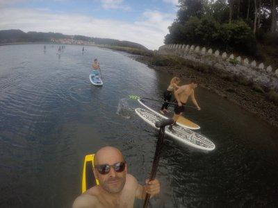 介绍步行到Paddle Surf Asturias 2h