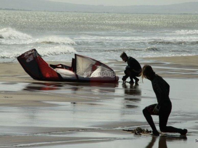 kitesurfing Mar Menor