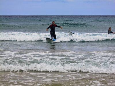Clase de 3 horas de surf en Pollensa