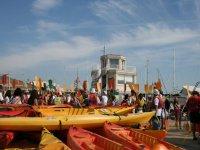 Rent kayaks in San Carles de la Rapita