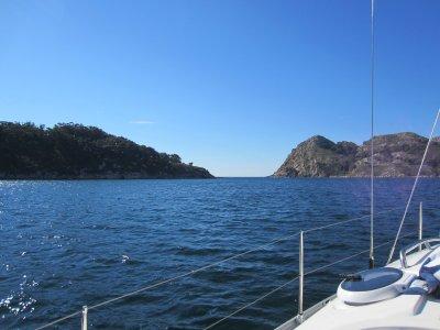 Paseo en velero de 4 horas por la ría de Vigo