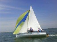 Sailboating activity