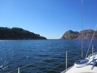 Navegando por las islas Cíes