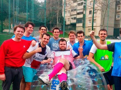 Bubble Football Barcelona Despedidas de Soltero