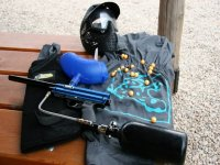 Equipment to make the game of paintball.JPG