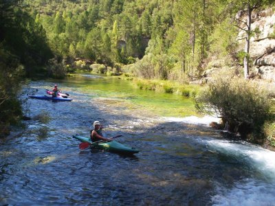 Kayaking route with snorkeling in the Alto Tajo