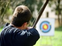Practice your aim on the target