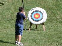 射箭射箭在塔拉戈纳儿童